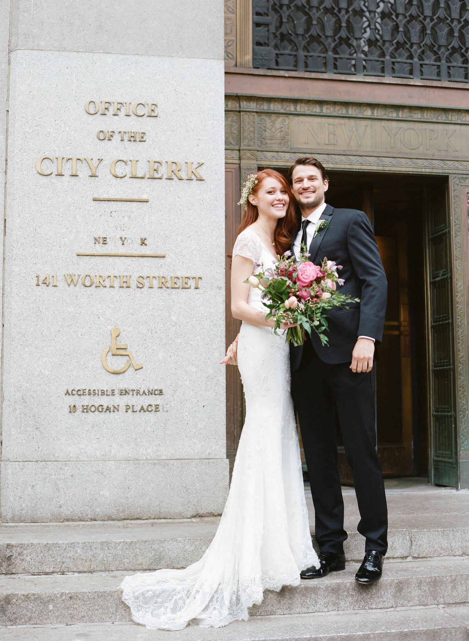City Hall Wedding New York City Manhattan City Hall-17