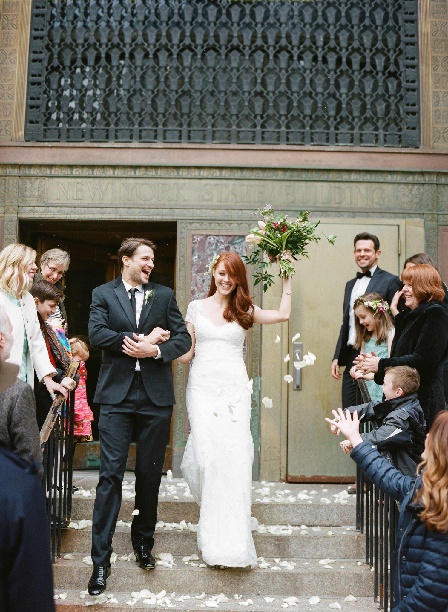 City Hall Wedding New York City Manhattan City Hall-30