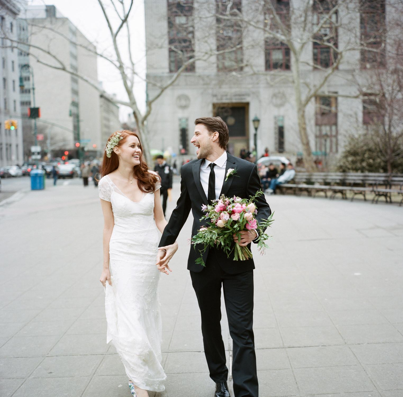 city hall wedding new york city manhattan city hall 18 - RACHEL & DENNIS