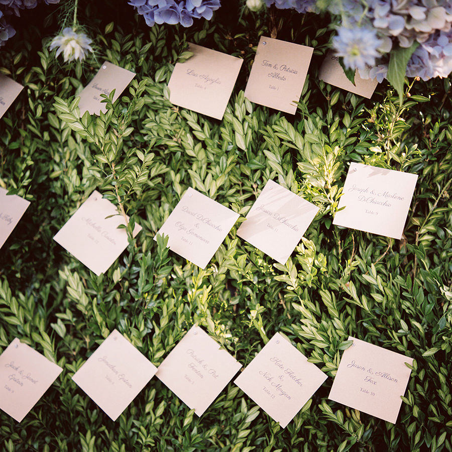 Brooklyn Botanical Gardens Wedding Decorations