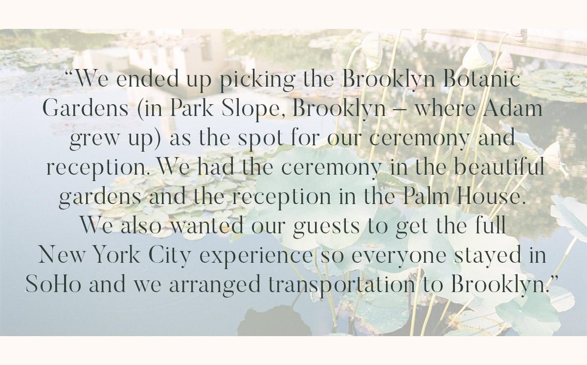 Brooklyn Botanical Gardens Wedding Photographer 06 - BROOKLYN BOTANICAL GARDEN WEDDING PHOTOGRAPHY