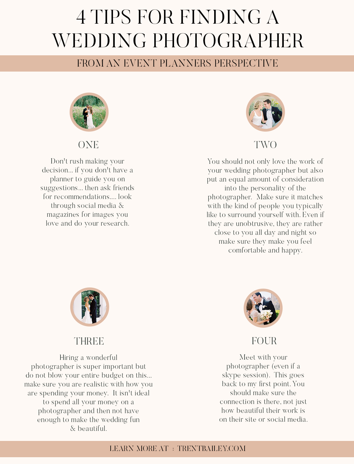 4 TIPS  01 - 4 TIPS FOR FINDING THE PERFECT PHOTOGRAPHER FROM AN EVENT PLANNER