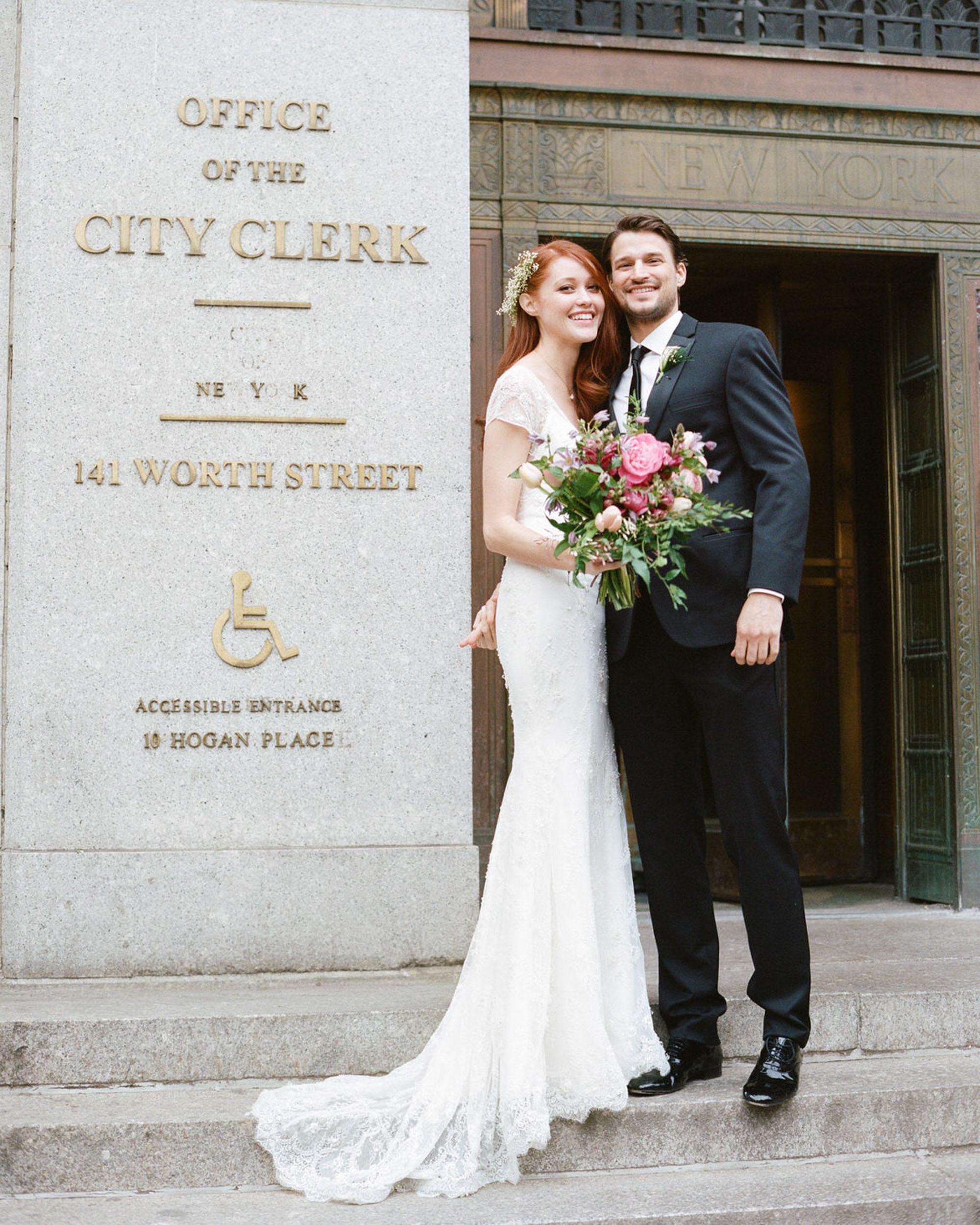 New York City Hall Wedding Photographer 0002 - NYC City Hall